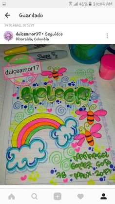 School Notebooks, Book Letters, Decorate Notebook, Letters And Numbers, Girls Bedroom, Doodles, Notes, Clip Art, Study