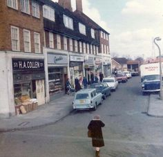 The Shops At Middleton Road On The St Helier Estate Carshalton Surrey England London History, Local History, Sutton England, Sutton Surrey, Saint Helier, The St, Type 3, Picture Video, Vw