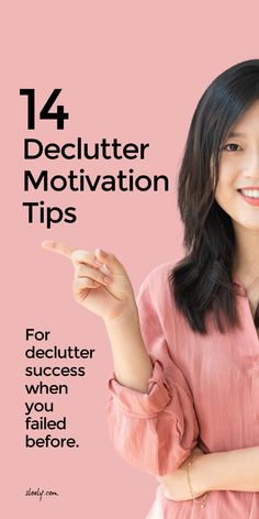 Use these simple declutter motivation tips to inspire to declutter your home successfully even when you've failed at declutter challenges or with popular declutter methods like Marie Kondo before #declutter #decluttermotivation #declutter inspiration #decluttertips #declutterhome