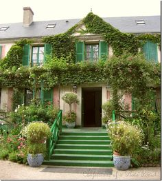 monets' home & gardens in giverny