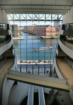 View from Royal Library ~ Copenhagen, Denmark