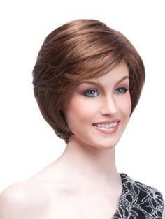 Thick short hair styles with bangs