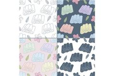 Thai massage seamless pattern by Sunshine Art Shop on @creativemarket