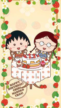 2 Girl, Chibi, Hello Kitty, Childhood, Happy Birthday, Japan, Cold, Cartoon, Comics