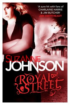 Cover Reveal: UK Editions of ROYAL STREET by Suzanne Johnson