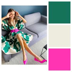 Book with a Stylist — Ask a Stylist Colour Combinations Fashion, Color Combinations For Clothes, Color Blocking Outfits, Fashion Colours, Colorful Fashion, Color Combos, Color Wheel Fashion, Colour Blocking Fashion, Mode Outfits