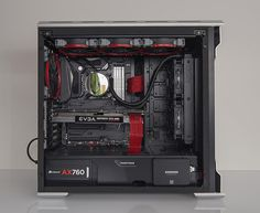 seanbarkley's Completed Build - Core i7-6700K 4.0GHz Quad-Core, GeForce GTX 1080 8GB CLASSIFIED GAMING ACX 3.0, Enthoo Evolv ATX Glass ATX Mid Tower - PCPartPicker