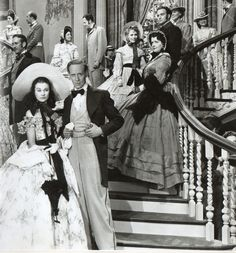 Gone With the Wind... it's ironic that such a sad story could bring so much joy to my heart