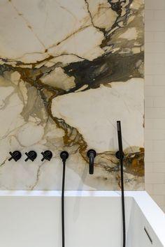 Dornbracht black taps - bathroom by Ashe + Leandro: