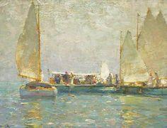 Walter Granville-Smith (American, 1870-1938) - Summer Sailing