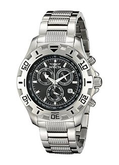 Men's Wrist Watches - Invicta Mens 6413 II Collection Chronograph Stainless Steel Watch * See this great product.
