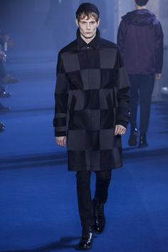Checks of every scale and variety appeared on the menswear catwalks across the…