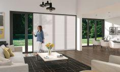 Door Designs   Custom-made Doors   Centor UK & Centor Integrated Doors with built-in insect screen installed in a ...