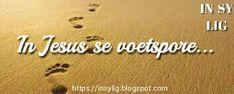 In Sy Lig: In Jesus se voetspore. Religion, Words, Horse