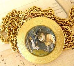 Where the Wild Things Are locket.