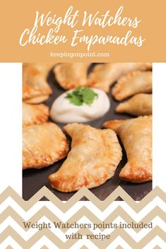 Chicken Empanadas 5 fs sp for 2 Weight Watchers Snacks, Weight Watchers Smart Points, Weight Watcher Dinners, Weight Watchers Chicken, Air Fryer Recipes Weight Watchers, Skinny Recipes, Ww Recipes, Mexican Food Recipes, Cooking Recipes