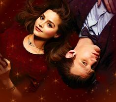 [DOCTOR WHO] Eleven - The 11th Doctor (Matt Smith) & Clara Oswin Oswald (Jenna-Louise Coleman) - Clara Oswald and The Doctor by Loeselit