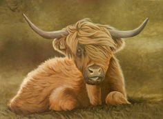 Art by NillaMustikka on deviantart Highland Cattle, Cow, Deviantart, Animals, Animales, Animaux, Cattle, Animal, Animais