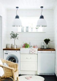 Inspiration in White: LaundryRoom - lookslikewhite Blog - lookslikewhite