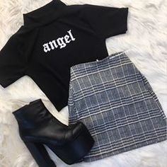 shoes-for-women. From general topics to more of what you would expect to find here, shoes-for-women. Teenage Outfits, Teen Fashion Outfits, Edgy Outfits, Cute Casual Outfits, Korean Outfits, Grunge Outfits, Skirt Outfits, Cute Fashion, Summer Outfits