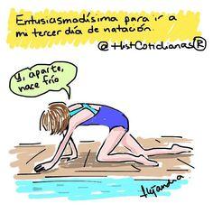 Tercer día de natación. by histcotidianas