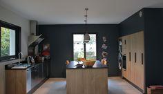 1000 images about cuisines on pinterest plan de travail - Plan de travail mika gris fonce ...