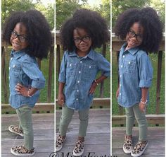 Little naturals! Black kids   daughter   beautiful   natural hair kids   afro   kinky curly