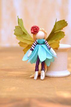 Flower Fairy Doll flower fairies miniature fairy doll