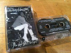 Whitney houston - im your baby tonight - CASSETTE pop soul