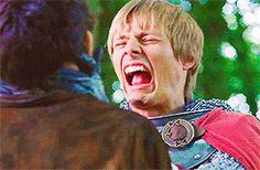 """Merlin sighed deeply, this was going to take a while. """"Yes Arthur I am the reason why you won anything, and I saved your life...many times so you are practically always going to be indebted to me."""""""