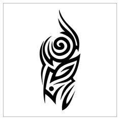 Tribal Strength Tattoo Designs