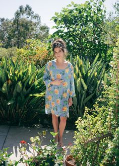 Jenny Slate Turns Model for an Emerging LA Fashion Label http://ift.tt/1r9YOeN #ELLE #Fashion