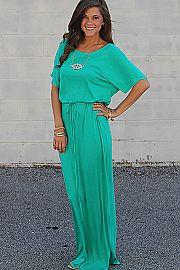 The Kamela Maxi, Green