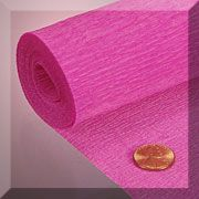 Lots and lots of crepe paper! All colors! papermart.com
