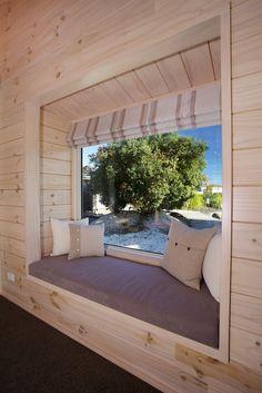 Lockwood Homes - bay window! Dream Home Design, My Dream Home, House Design, Timber House, Wooden House, Whitewash, Cute Home Decor, Stone Houses, Modular Homes