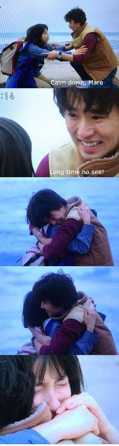 "Kento Yamazaki x Tao Tsuchiya, Meeting up in 2.5 years (T_T), Ep.80, J Drama ""Mare"", on going http://www.drama.net/mare [Eng. sub]"