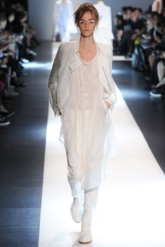 Ann Demeulemeester Spring 2015 Ready-to-Wear - Collection - Gallery - Look 1 - Style.com