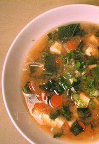 Miso soup*