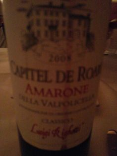 Best Amarone in a long timr