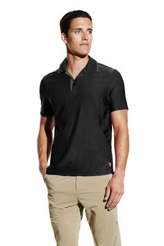 MPG® Ambrose Hit the court or links in this lightweight and breathable performance polo tee.