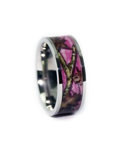 #1 Camo Pink Camo Wedding Ring - Flat Titanium  http://www.countryoutfitter.com/products/72017-pink-camo-wedding-ring-flat-titaniu?lhs=u_p_p_n_a&lhb=MP&lhc=womens_jewlery&lhg=1_camo_pink_wedding_ring&utm_source=pinterest&utm_medium=social
