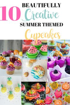10 Cupcakes That Will Make You Want Summer to Last Forever