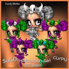 ScrapGrafikShop: CU/PU Halloween Girly
