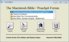 AOL MacBible ScreenShot