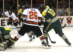 Clarkson's Kevin Tansey brings together the hockey world for a fundraiser for injured Princeton recruit Neil Doef | http://www.collegehockeynews.com/news/2014/12/21_clarksons_tansey_steps_up.php