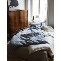 Animeaux duvet cover, dirty white – Dirty Linen #interior #design