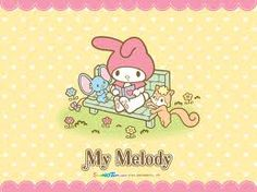 My Melody (Sanrio) .somewhere lost my My Melody house along the way. Sanrio Wallpaper, My Melody Wallpaper, Kawaii Wallpaper, Melody Hello Kitty, Keroppi, Hello Kitty Imagenes, Pochacco, Mermaid Melody, Miffy
