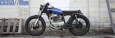 Analog Motorcycles | CB350 // Blue
