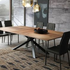Merlin expandable dining table                                                                                                                                                                                 More