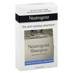Neutrogena Clarifying Shampoo March 2014 - I just started using this every few times I shampoo and it's great for getting rid of product buildup that starts weighing your hair after a while.  Smells sooooo good, loving this product. Purchased at drugstore.